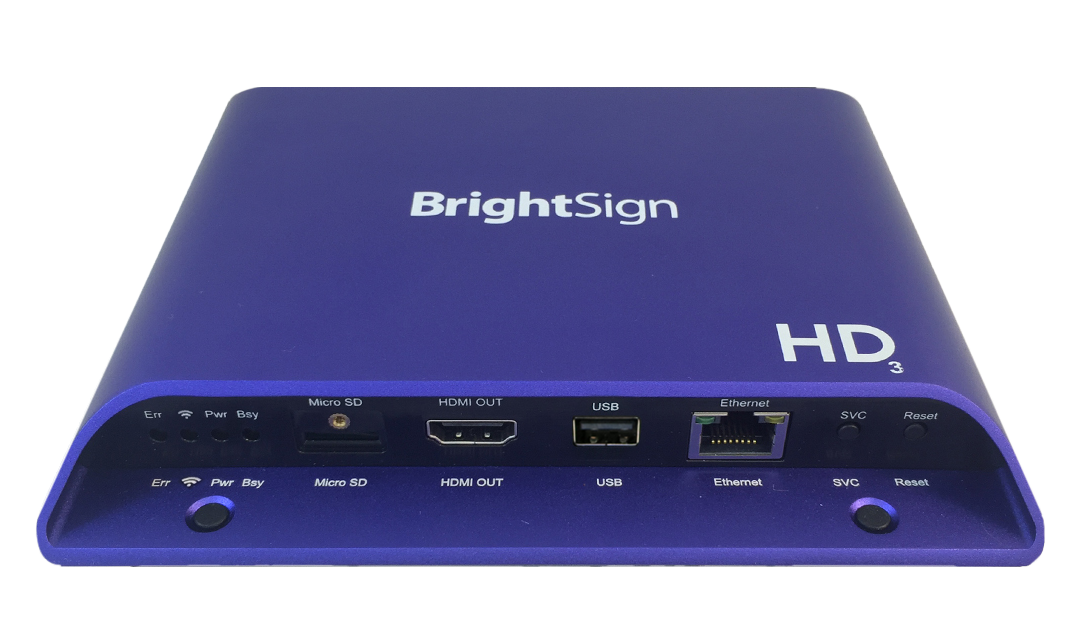 HD1024 Expanded I/O Player