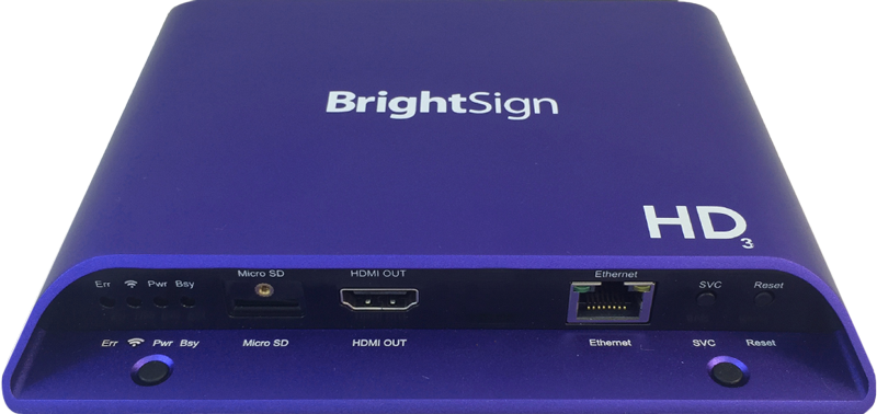 HD224 Standard I/O Player